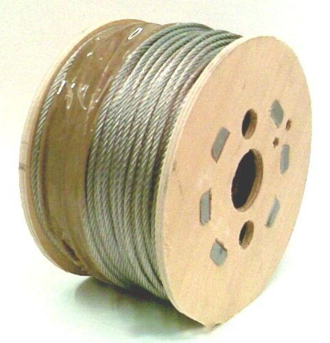 2mm x 100m 7x7 Galvanised Steel Wire Rope
