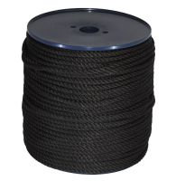 8mm Black Yacht Rope on a 200m reel
