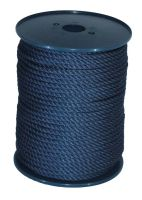 8mm Navy Blue Yacht Rope sold on a 100m reel