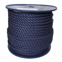 16mm Navy Blue Yacht Rope sold on a 100m reel
