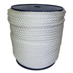 12mm White Yacht Rope on a 50m reel