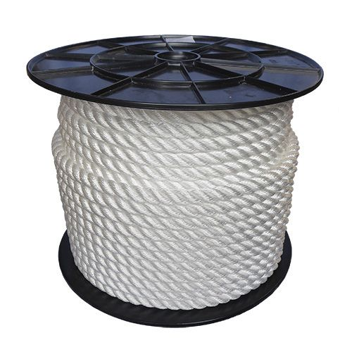 16mm White Yacht Rope 100m reel