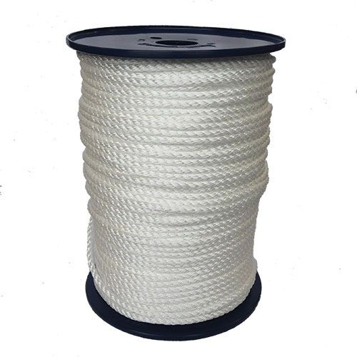 6mm White Yacht Rope on a 200m reel