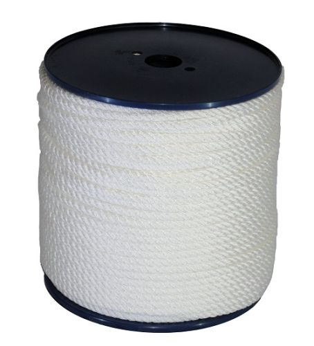 8mm White Yacht Rope on a 200m reel