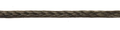 4mm Black Dyneema Compact Braid sold by the metre