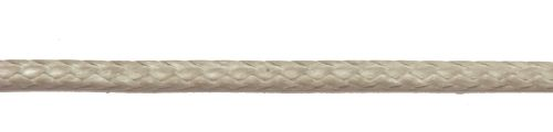 3mm Silver Dyneema Compact Braid sold by the metre