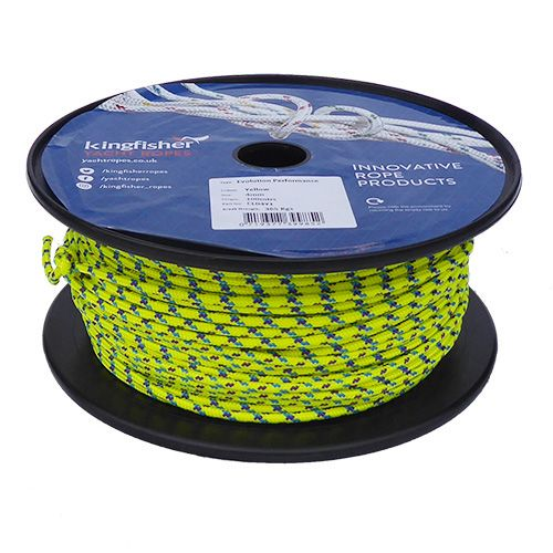 4mm Yellow Evo Performance - 100m reel