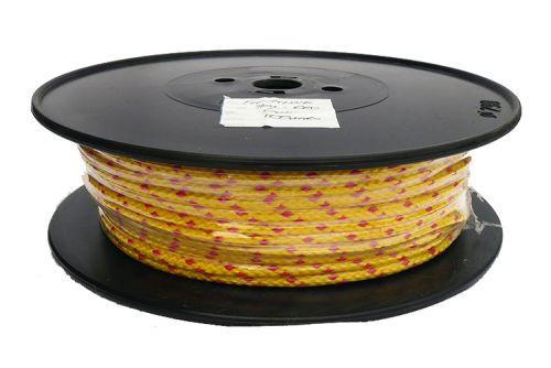 6mm Yellow Floatline - 100m reel