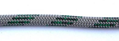 10mm Green Silvertech Dyneema Rope - sold by the metre