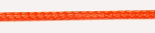 4mm Red Dyneema Compact Braid sold by the metre
