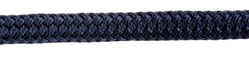 14mm Navy Blue Double Braid Dockline sold by the metre