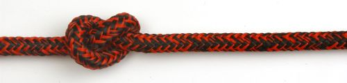 7mm Red Black Evolution Sheet rope - sold by the metre