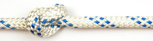 8mm Kingbraid with Blue Fleck sold by the metre