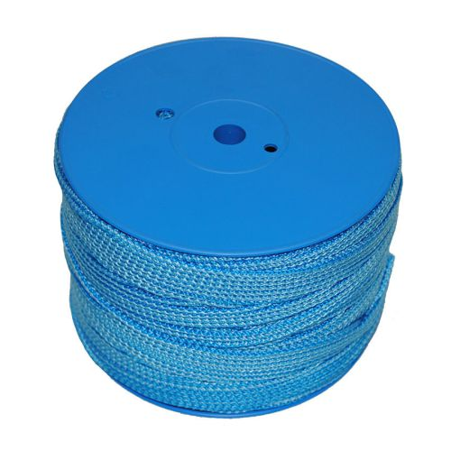 3mm Blue Knit Braid Polypropylene Reel 250m