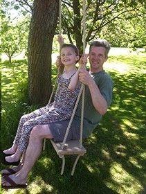Oak Swing for Trees