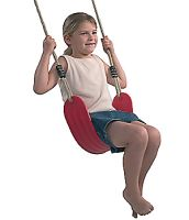 Wraparound swing seat