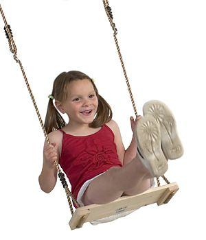 Wooden Swing Seat - Hardwood