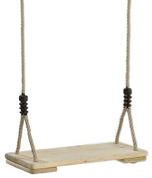 Wooden Swing Seat - Pinewood