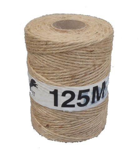 125m 3-ply Natural Jute String