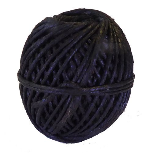 Thick Tarred Flax Marline Twine, 250gm ball