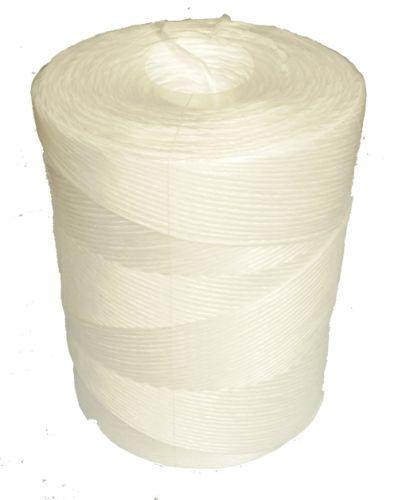 450m White Polypropylene Twine - 4.5kg spool