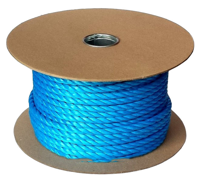 16mm Blue Poly Rope - 40m reels at Low Prices | Ropes Direct