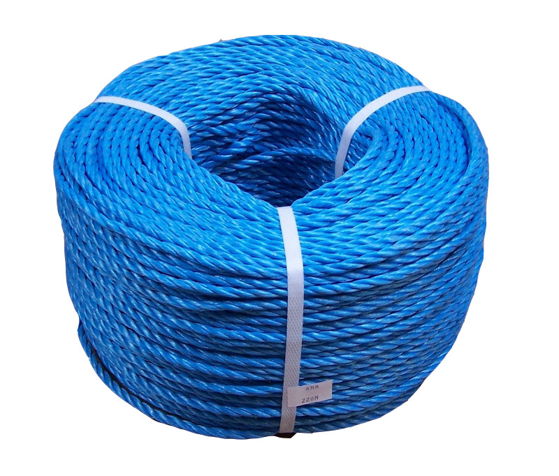 8mm Blue Poly Rope