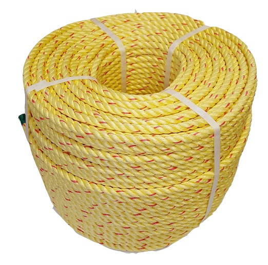 Leaded polysteel rope, often used on fishing boats